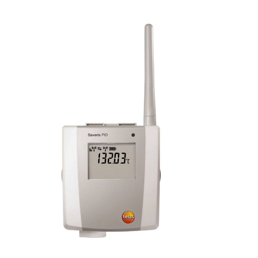 Testo Saveris Pt D - 1-channel temperature radio probe, with display